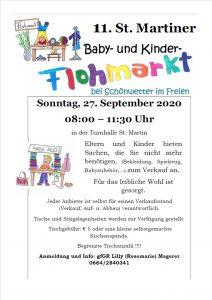 Baby- und Kindersachen Flohmarkt